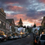 Nevada City at Dusk
